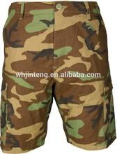 woodland camouflage bdu short pants (bdu uniform)