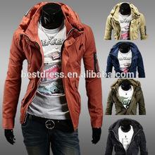 Wholesale checkout 2015 Winter men's coat Good quality new Designs Fashion Keep Warm men jacket slim