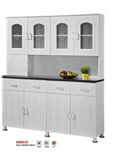 easy assembly kitchen units factory promotion low price cupboard