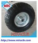 Top Quality Small Semi- Pneumatic Rubber Wheelbarrow Tool Carts Wheel 4.10 / 3.50-4 With bearings