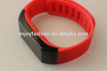 2014 Top Health sport New Purple Bluetooth Smart Watch Bracelet Caller ID Message