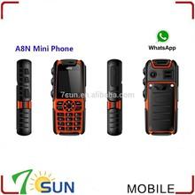 new product Mini A8n Doble Sim Y Whatsapp china brand name mobile phone