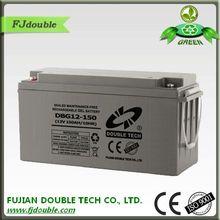 Popular in Syria, 12v150ah/10HR DBG12-150 gel made in China