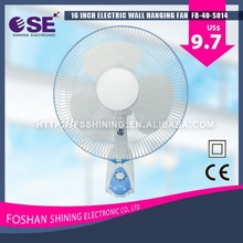 Brand new wall fan fashion well-known electric wall fan 3 speed wall fan 16 inch with CE certificate FB-40-S014