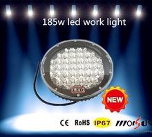 185W LED Work Light , 9'' 185w 4x4 Offroad LED Driving Light , 185w Auto LED Working Light