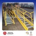 al aire libre galvanizado industrial escalera de acero