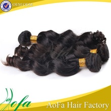 Top quality 7A grade raw unprocessed remy virgin 100% indian hair extensions