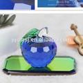 dark الزرقاء الصافية حيةحماية الزجاج التفاح zwm027 للزينة والهدايا