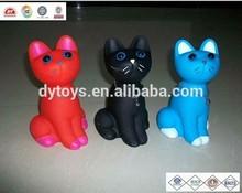 plastic small toys cat, toys plastic little animals