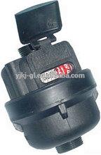 Plastic/copper/iron Volumetric Rotary Piston volumetric water meter Class C, R=160
