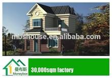 costruzione di case prefabbricate di lusso villa prefabbricata