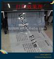100 Mikron hochwertige pet milchig bedruckte folie