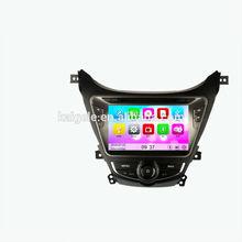 alibaba china supplier car multimedia cd player for Hyundai MDAvante 2012 headrest dvd with GPS navigation bluetooth SD USB