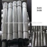 galvanized/black straight cut wire