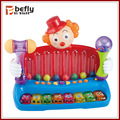 горячая продажа музыкальные клоун игрушки для ребенка