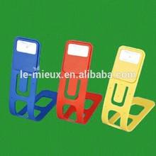 Multi Functional Silicone Book Light Pen & Card Holder Bookmark Light
