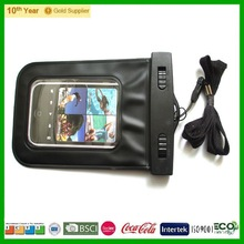 Cell phone accessories pvc waterproof phone case for swiming