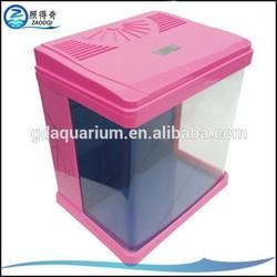 The behind filter pump has led lighting fish aquariums