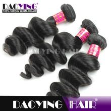 Naturalmalaysian hair extension grade 7a loose wave hair, ebony soft dread lock synthetic braiding hair