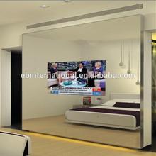 Mirror TV living ROOM , black silk Mirror TV, eb glass