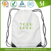 Factory Price Commercial 210D Polyester Backpack/Nylon Kids DrawString Bag