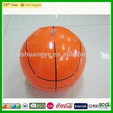 2015 Newest design !!!!! PVC inflataball basketball, Inflatable beach ball