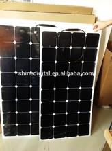 100watt Semi Flexible Solar Panel back-contact sunpower cell