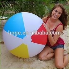 36'' Summer Classic Inflatable PVC Rainbow Beach Balls