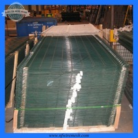 plastic folding fence / bending fence /fence container(guangzhou Factory)