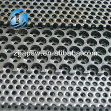 Round hole Perforated Screen punched circle hole sheet/plate/mesh net