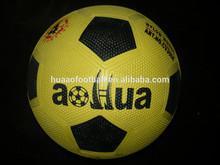 Bulk costomize hot sale rubber football,soccer ball
