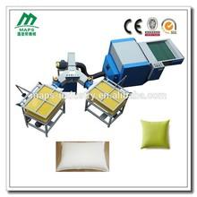 Economical high effection fiber carding & pillow filing machine