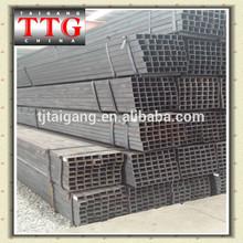 TTG Black Square Pipe/Tube Factory Price 55