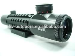 Best Quality 4x28 E Riflescope Illuminated Airsoft Hunting Shooting Scope Rails Mounts