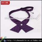 Mixed Designs 100% mens polyester ribbon cross tie