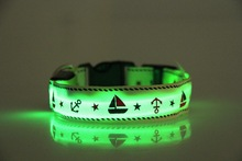 pet product led wholesale dog collar made in china