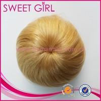 wholesale price indian long virgin hair big human hair bun
