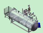 horizontal autoclave sterilizer