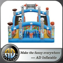 2014 Cheapest inflatable fire truck bouncer