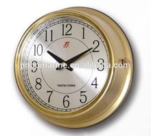 Marine Brass Wall Slave Clock