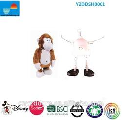 Plush moving monkey/high quantity monkey from chinese factory