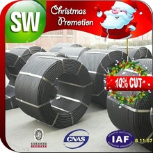 Christmas Discount .7mm pc strand wire for road construction