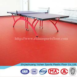 pvc sports floorings table tennis court flooring indoor table tennis floor mat