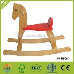Kids Toy Wooden Rocking Horse