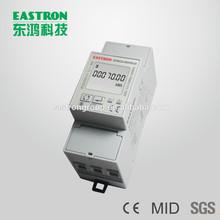 Sdm220modbus, singolo contatore di energia digitale di fase, rs485, imax: 80a