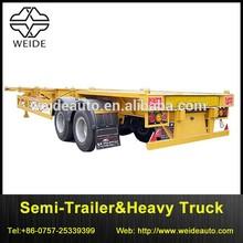 Skeleton Gooseneck Semi-trailer frame