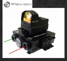 Vector Optics Tactical Integrated Sighting Module 3 in 1 Device - Mini Red Dot Scope & Green and IR Laser Combo Weapon Sight