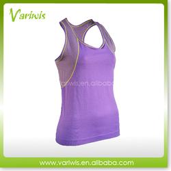 Wicking Sport Underwear Custom Women Stringer Tank Top