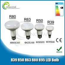 High performance new style high lumen best price r50 led bulb 180 degree ce,rohs ,e27 led bulb lamp r50 for office