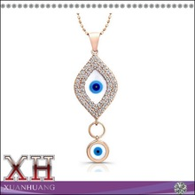 Classic Whole 925 Silver Jewelry Necklace Evil Eye Pendant
